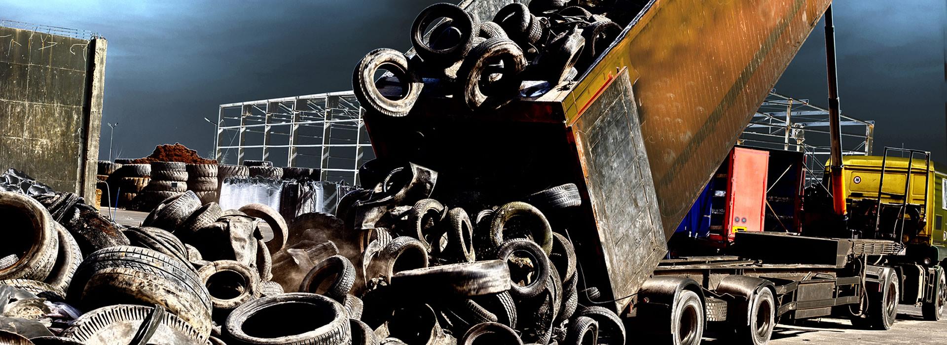 Tire Recycling In Atlanta M M Waste Dumpster Rental